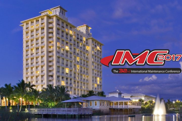 IMC2017 Conference, the 32nd International Maintenance Conference.