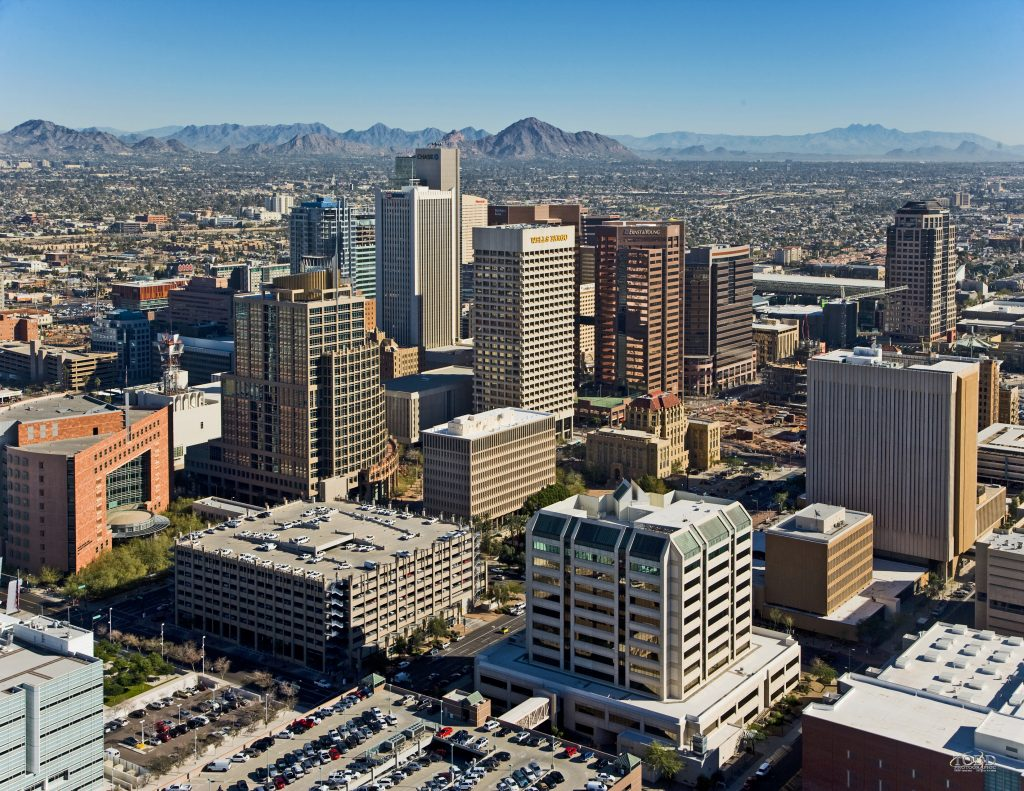 Downtown Phoenix, Arizona Maintelligence Level 1 & 2