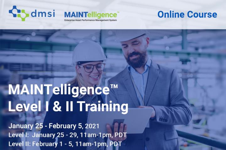 January Februrary 2021 MAINTelligence Training