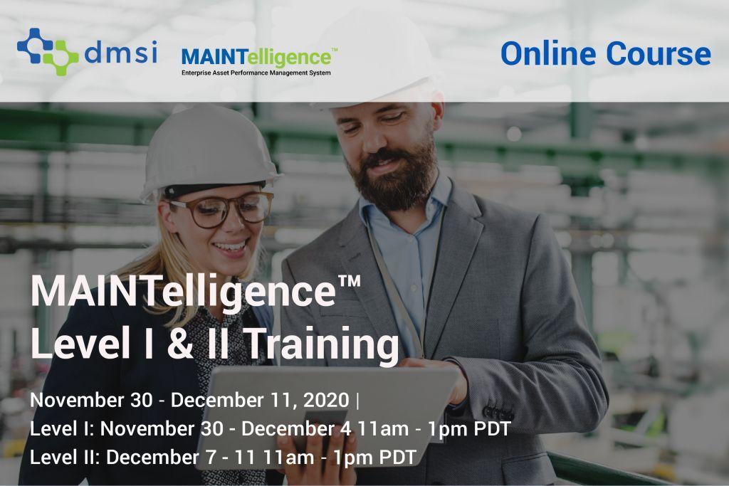 November 2020 Maintelligence Training