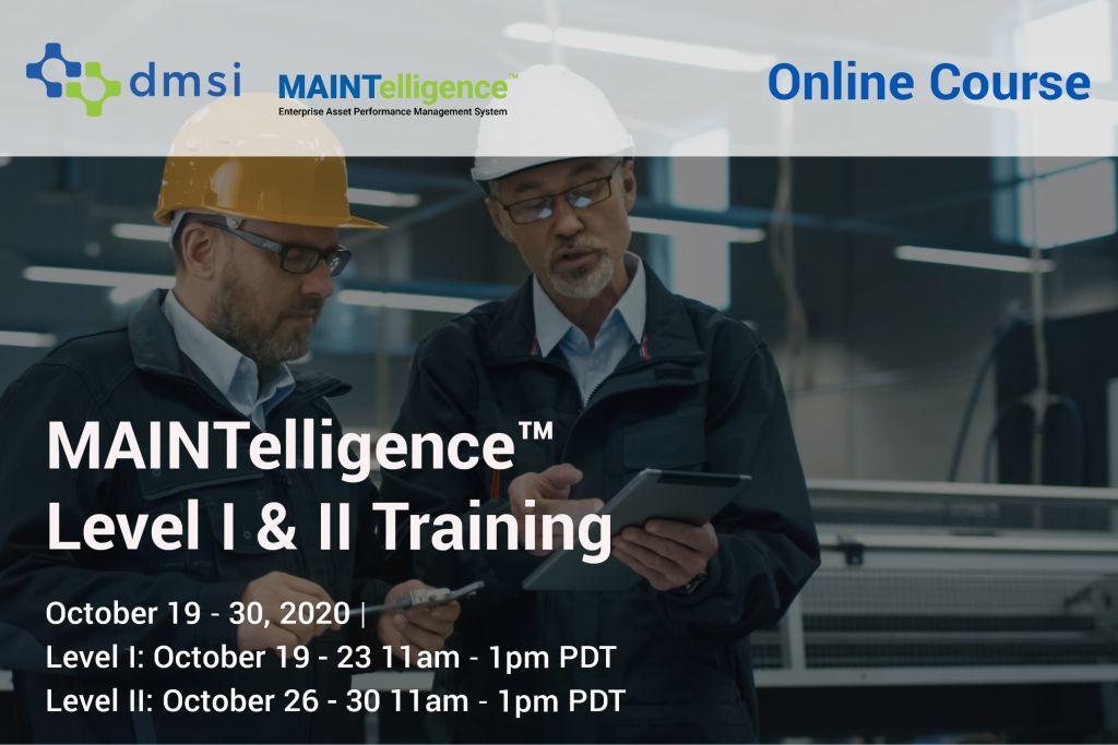 OCtober 2020 Maintelligence Training