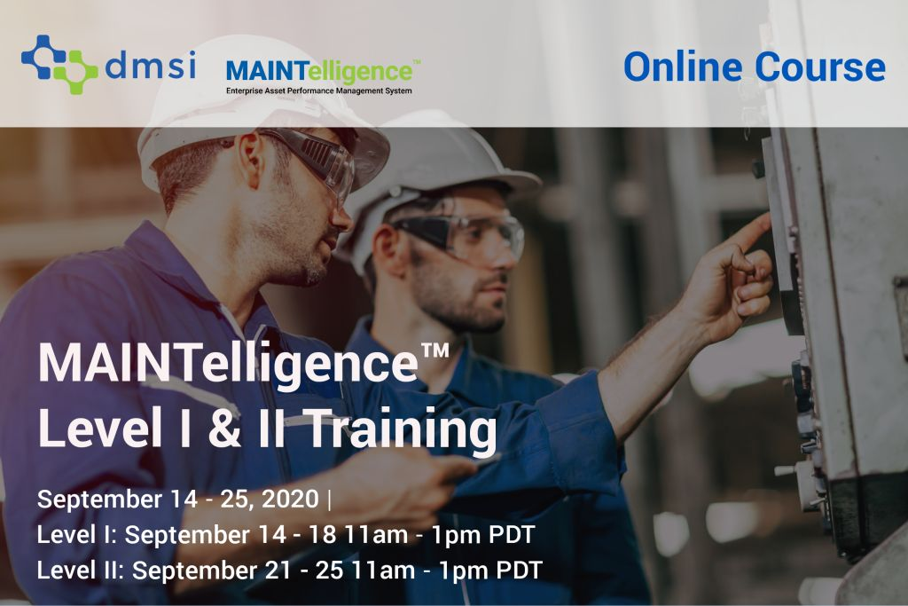 September 2020 Maintelligence Training