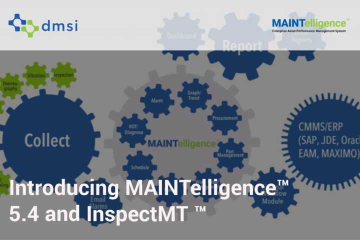 Introducing MAINTelligence 5.4